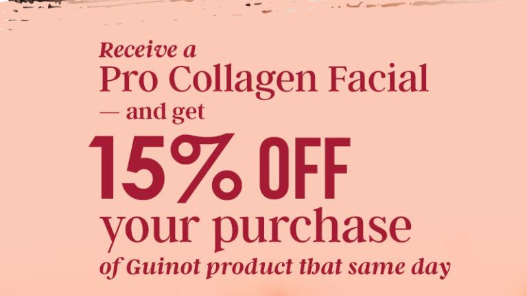 pro collagen facial