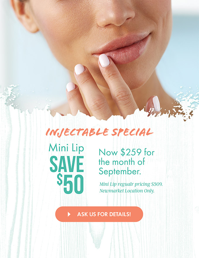 mini lip injectable special