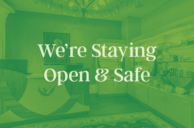 staying safe and open